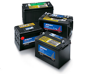 ac delco batteries to fit your car